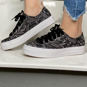 Women's Keds by CJW platform sneakers